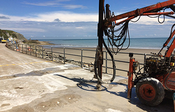 Rock drilling in Kent and London